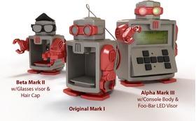 可以直接组装的机器人-马克I